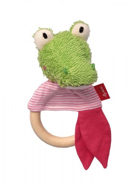 Baby Holz-Greifling Krokodil Krokka Mokka