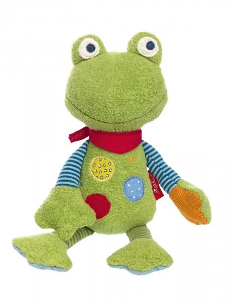 Kuschelfigur Flecken Frog