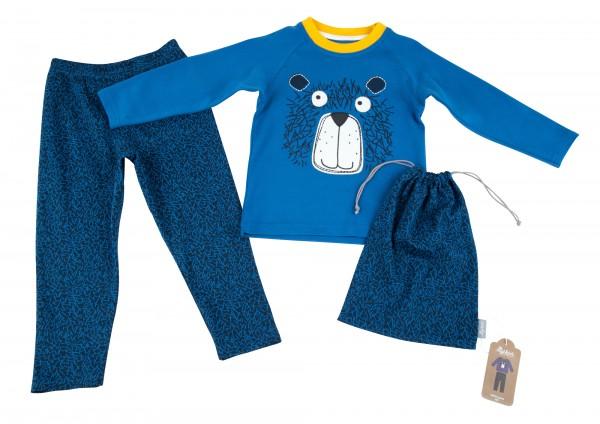 Jungen Schlafanzug mit Bär