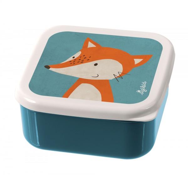 Snackboxen 3er-Set Fuchs