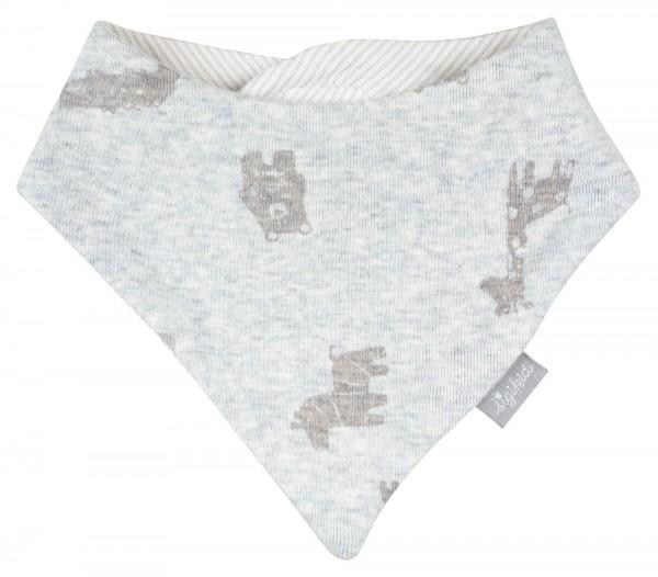 Weiches Baby Wendehalstuch mit Giraffendruck