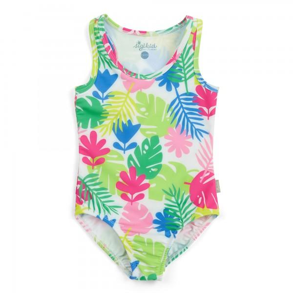 Mädchen Badeanzug mit Allover Print