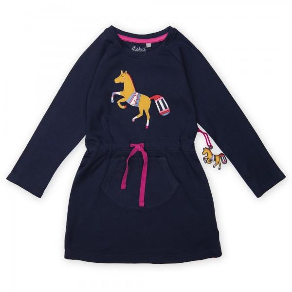Mädchenkleid mit Pferde Motiv