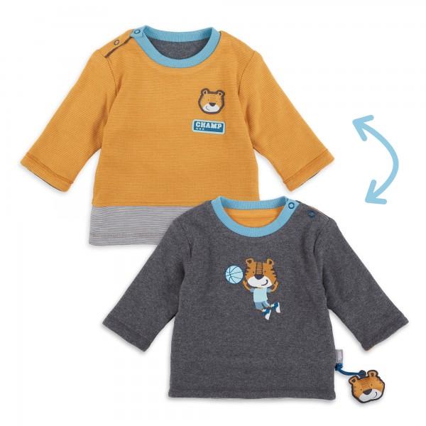 Baby Wendeshirt mit Tiger Motiv