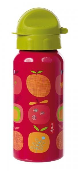 Mädchen Trinkflasche rot, Serie Apfelherz