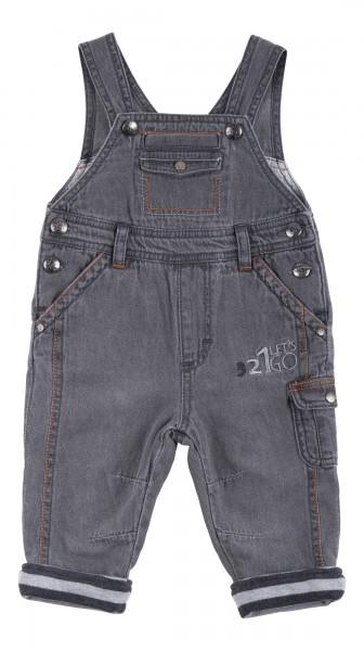 Baby Latzhose Jeans gefüttert