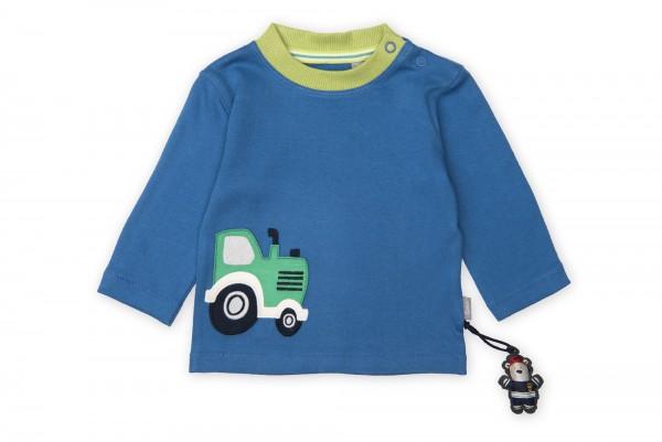 Baby Langarmshirt mit Traktor Motivc
