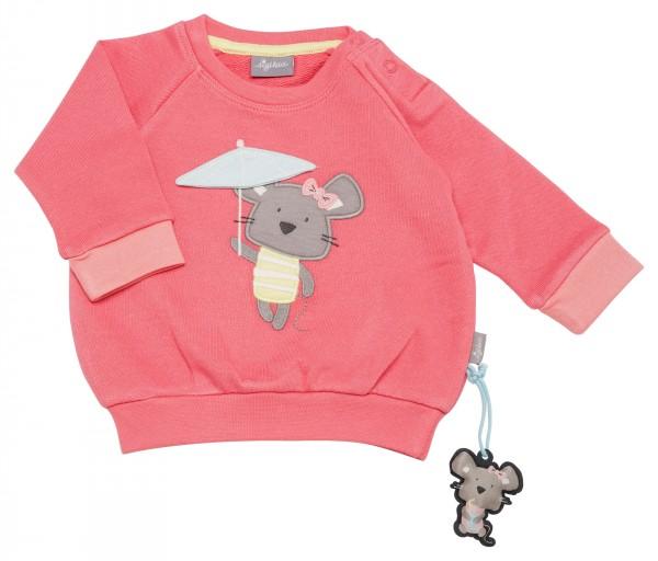 Mädchen Sweatshirt in Apricot