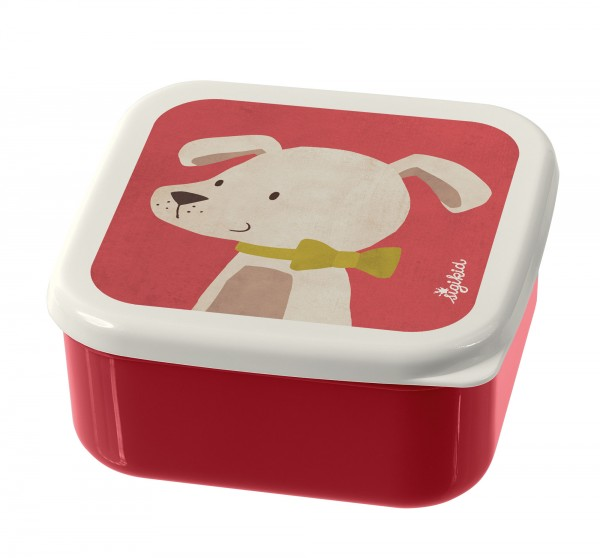 Snackboxen 3er-Set Hund