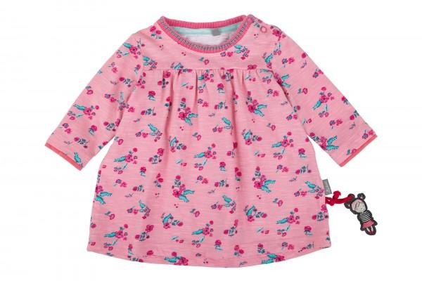 Geblümtes Babykleid in Rosa