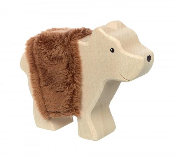 Holztier Bär