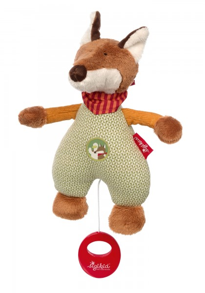 Musical soft toy Forest Fox
