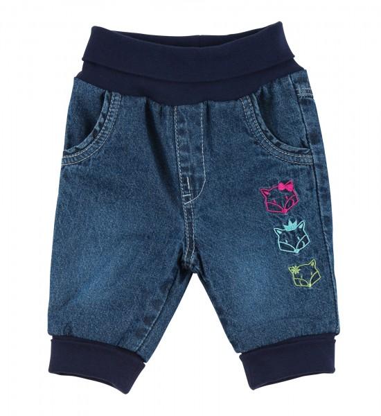 Gefütterte Baby Jeans für Mädchen