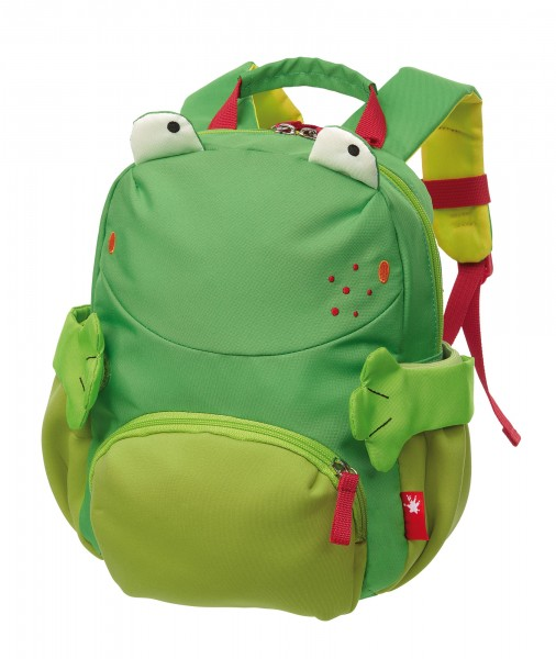 Kindergarten Rucksack Frosch
