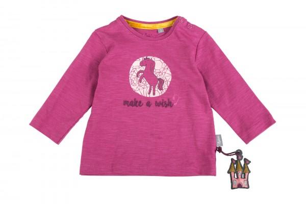 Lila Babyshirt, Make a wish