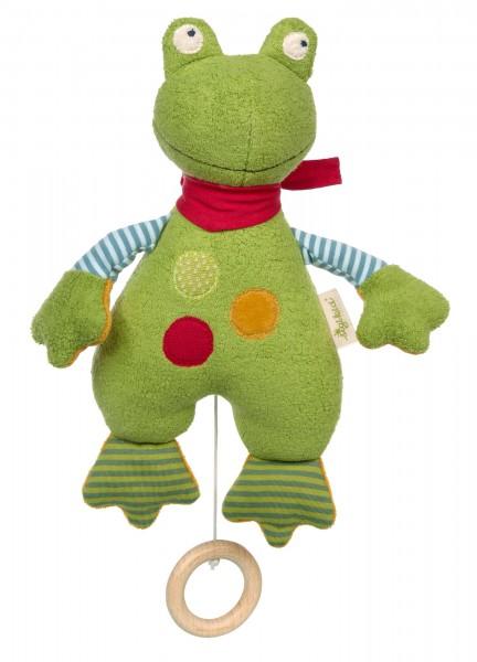 Spieluhr Frosch Green
