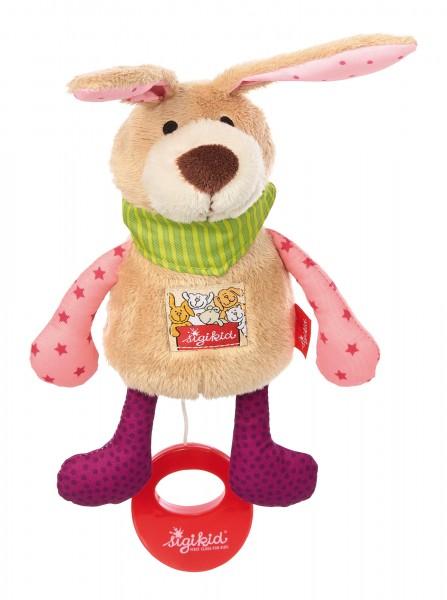 Spieluhr Hase, rosa