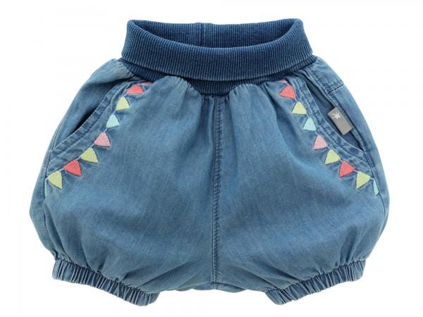 Kurze Jeans Pumphose für Mädchen