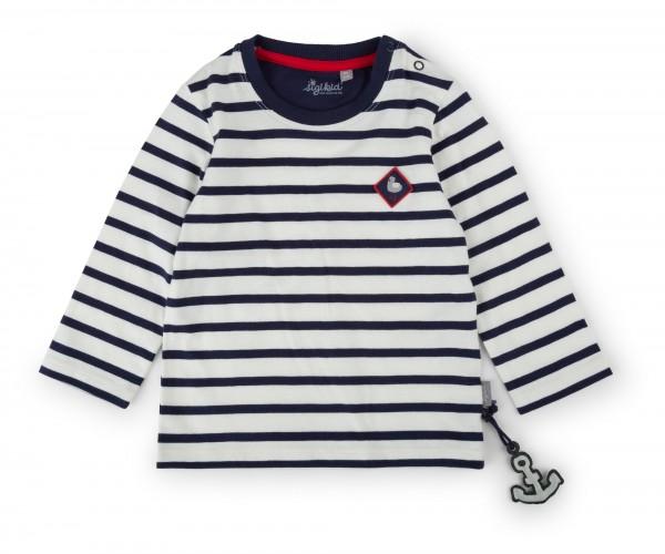 Langarm Streifenshirt für Mädchen
