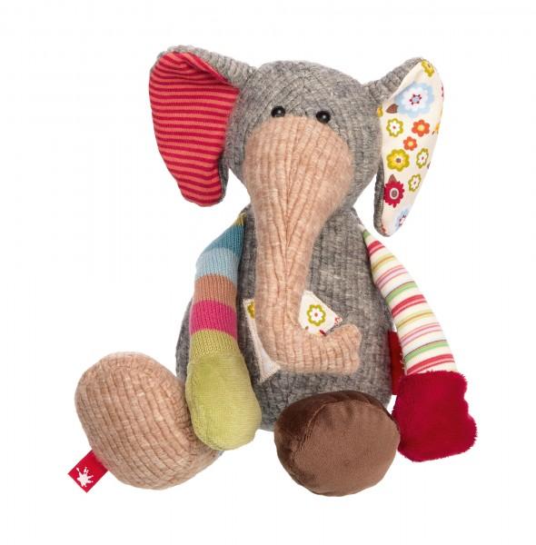 Kuscheltier Elefant, Patchworkstyle