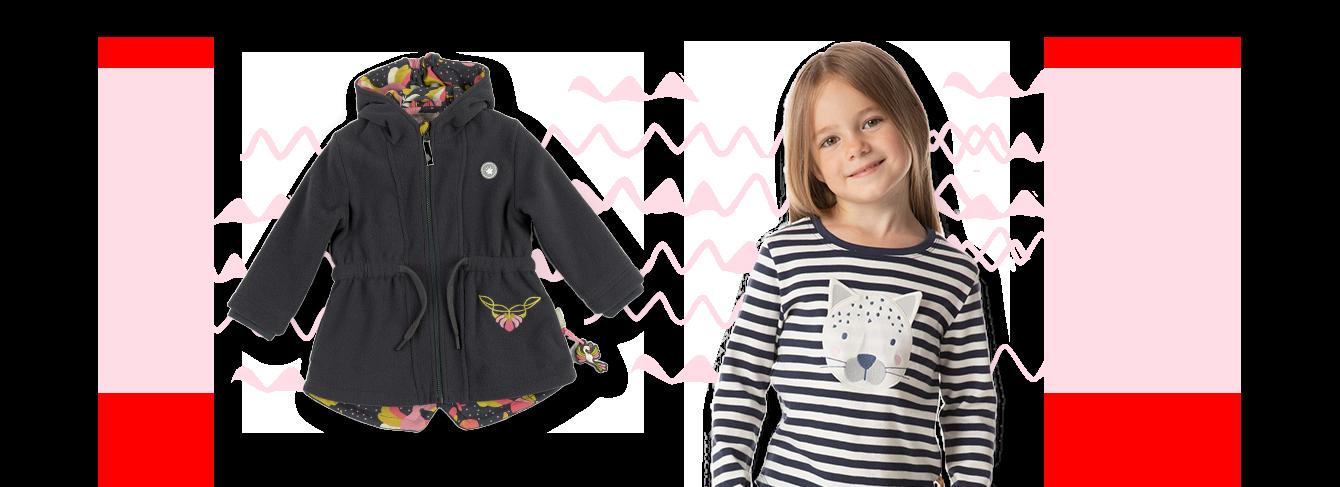 Mode für Mini Mädchen von 3-8 Jahren
