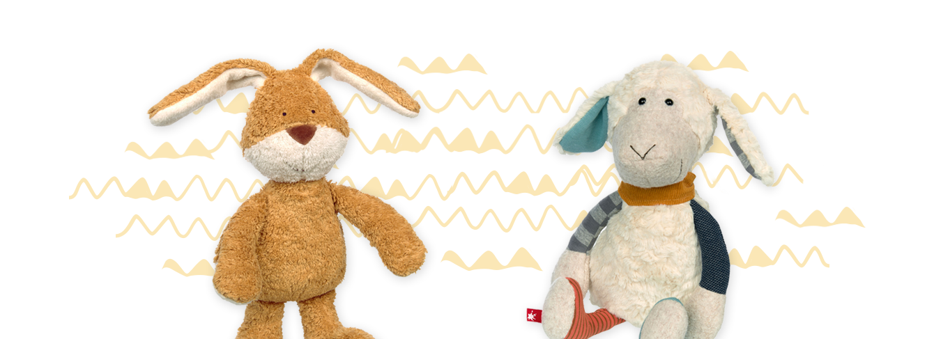 Kuschelige Freunde fürs Osternest