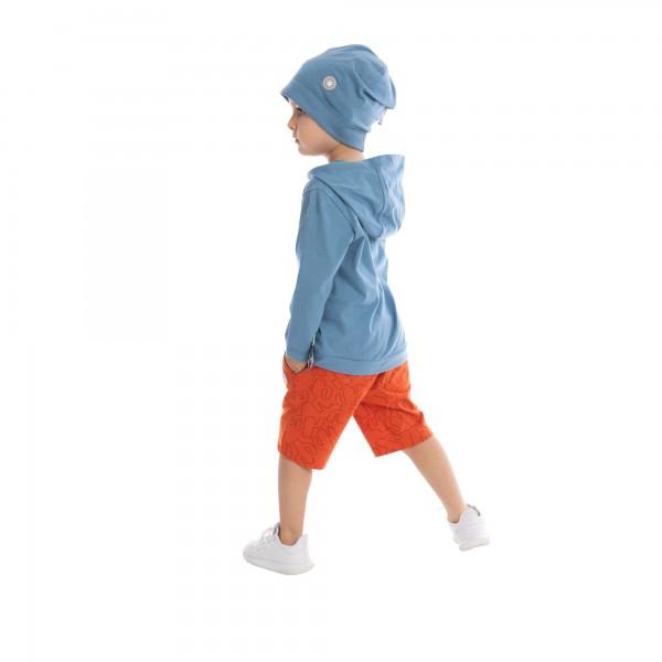 Blaue Jungen Mütze