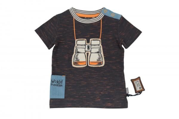SIGIKID Meliertes Baby T-Shirt mit Fernglass