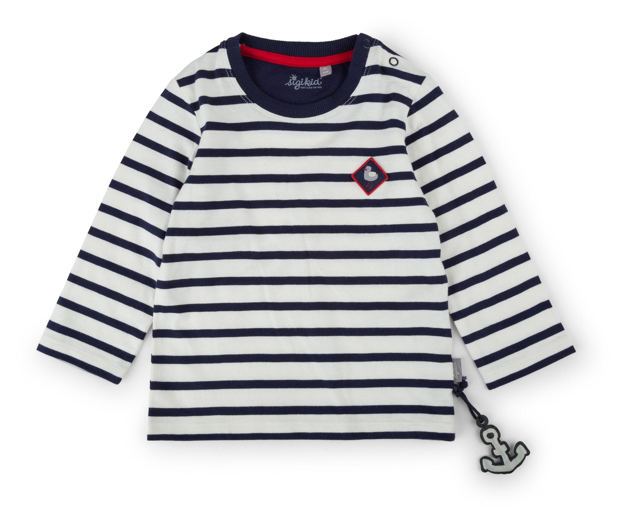 best service 5e166 411cc Langarm Streifenshirt für Mädchen