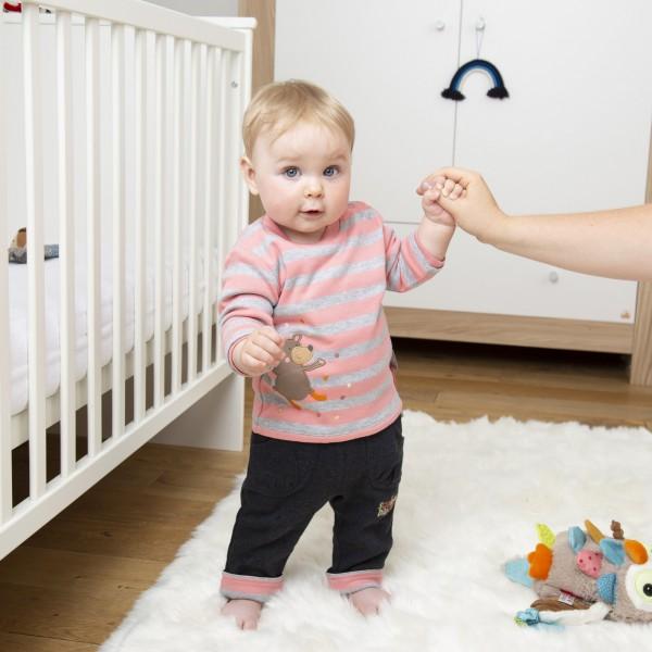 Baby Wendeshirt mit lustigen Tiermotiven