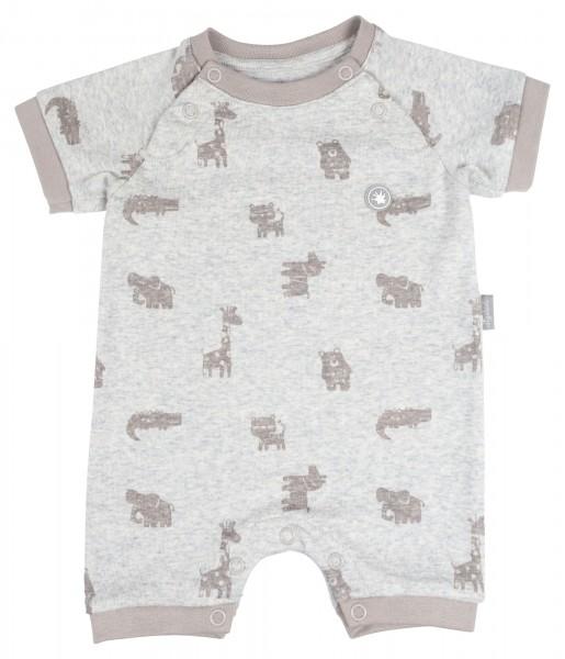 Kurzarm Babybody mit Tiermotiven