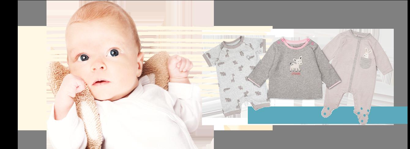 Newborn Babymode bis Größe 68