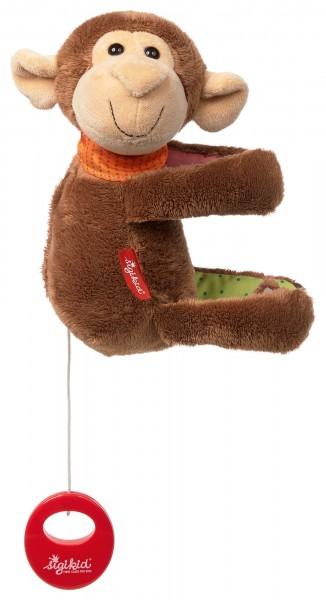 Hängespieluhr Affe