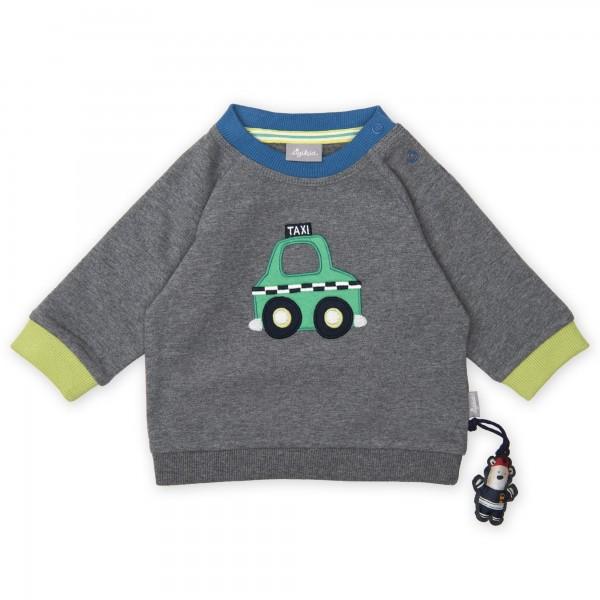Jungen Sweatshirt mit Taxi Motiv