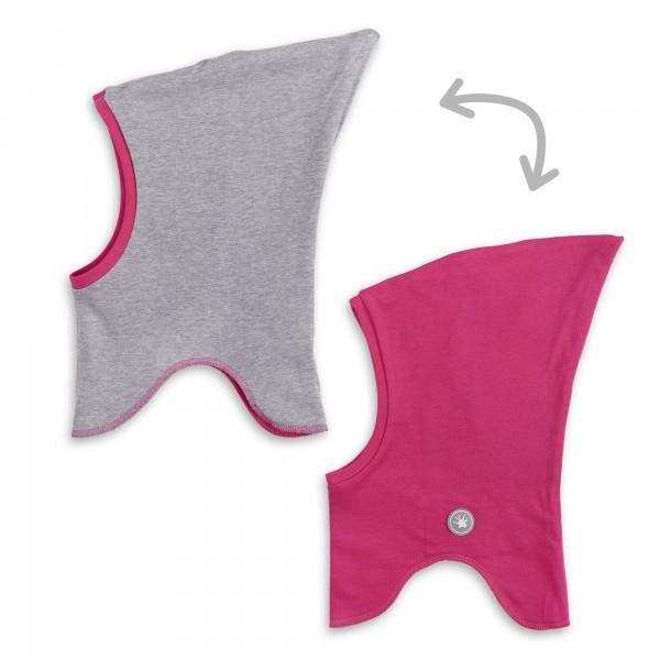 Baby Wende Schlupfmütze, pink