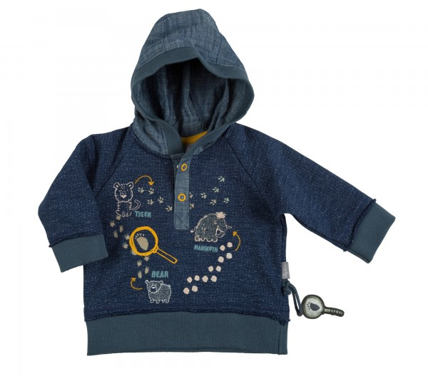Baby Sweatshirt mit Kapuze