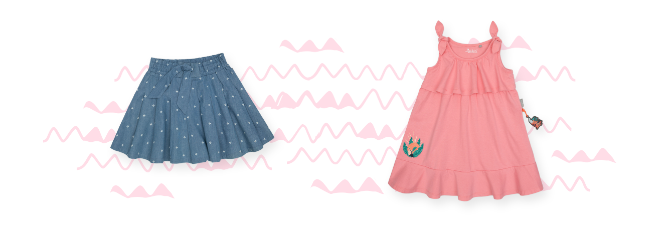 Girls´ dresses and skirts