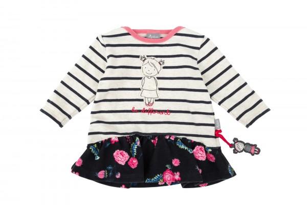 Baby Kleid mit Volantansatz