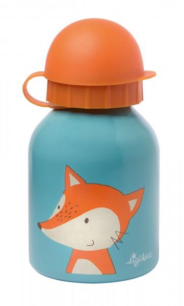 Edelstahl Trinkflasche Fuchs
