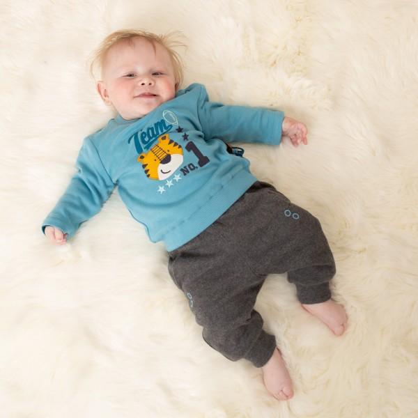 Baby Wendehose mit Beinbündchen