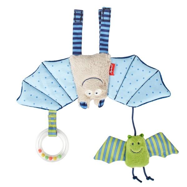 Babyschalenanhänger Fledermaus