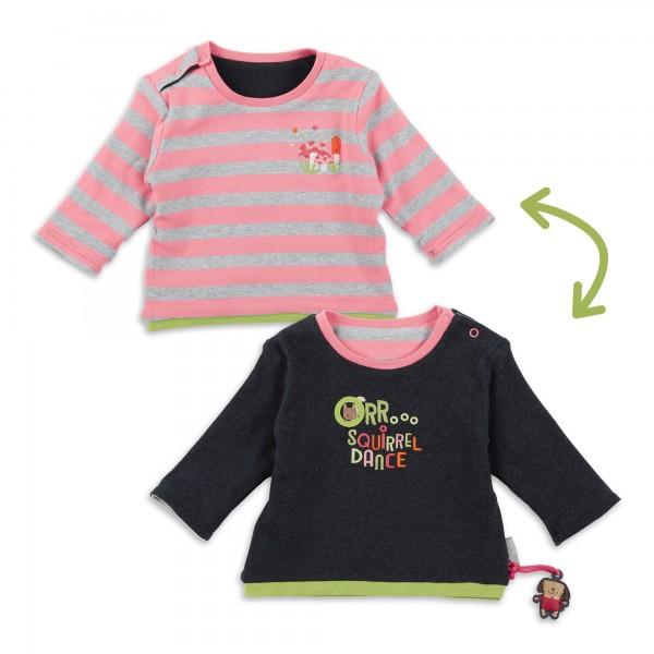 Baby Wendeshirt mit bunter Stickerei