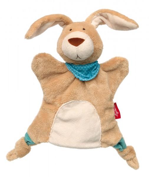 Handpuppe-Schnuffeltuch Hase