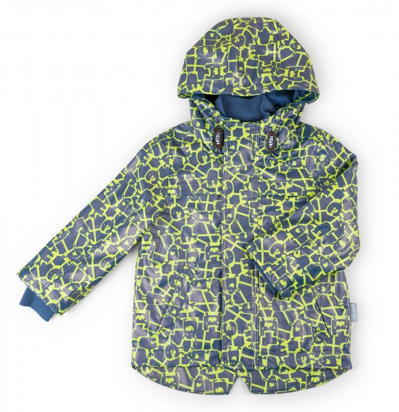 Bedruckte Regenjacke für Mädchen und Jungen