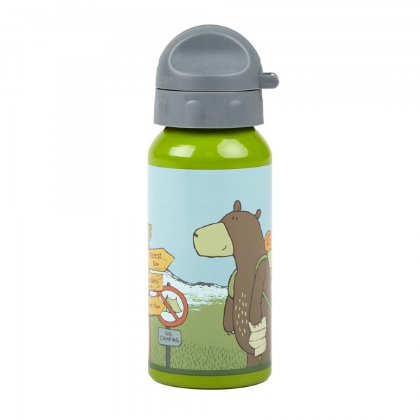 Kinder Trinkflasche Bär Forest Grizzly