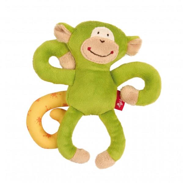 Babyschalen Anhänger Affe in Grün
