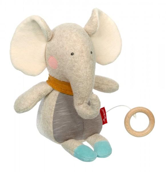 Spieluhr Elefant Gold
