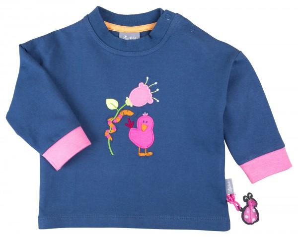 Blaues Mädchen Sweatshirt mit Motiv