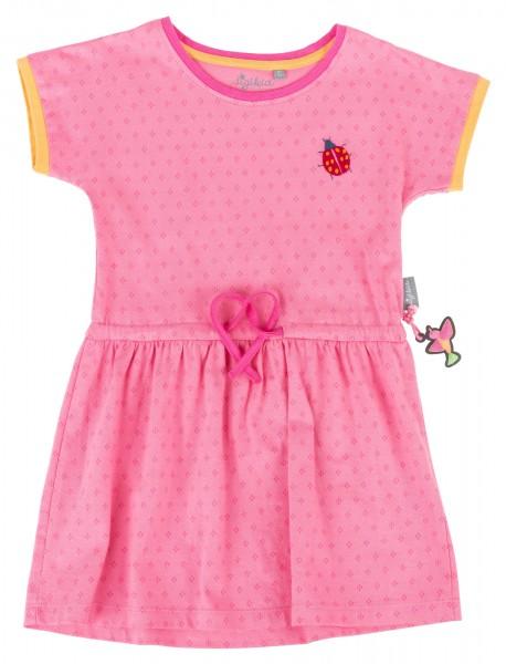 Tailliertes Sommerkleid in Pink