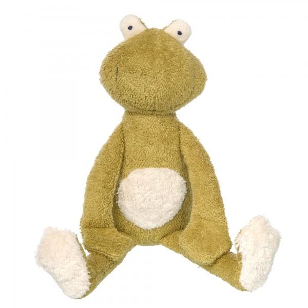 Kuscheltier Frosch Green